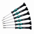 Wera 2067/6 HF Kraftform Micro Screw Holding Torx Screwdriver Set
