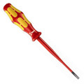 Wera Kraftform 100 Insulated Slotted Screwdriver with Reduced Blade - Wera 05006440002