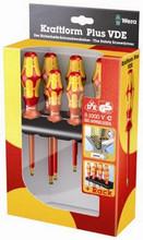 Wera 160 i/168 i/6 Insulated Screwdriver Set