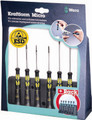 Wera 1578 A/6 ESD Micro Screwdriver Set