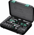 "Wera 8100 SA2 42 Pc Zyklop Ratchet 1/4"" Drive Set Metric"
