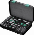 "Wera 8100 SA4 41 Pc Zyklop Ratchet 1/4"" Drive Set Imperial"