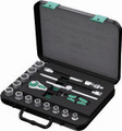 "Wera 8100 SB3 17 Pc Zyklop Ratchet 3/8"" Drive Set Imperial"