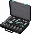"Wera 8100 SC1 22 Pc Zyklop Ratchet 1/2"" Drive Set Metric"