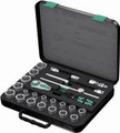 "Wera 8100 SC3 23 Pc Zyklop Ratchet 1/2"" Drive Set Imperial"