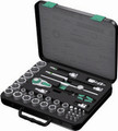 "Wera 8100 SC4 38 Pc Zyklop Ratchet 1/2"" Drive Set Imperial"