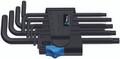 Wera 967 L/9 HF 9 Pc Torx L-Key With Holding Function Set, T8-T40