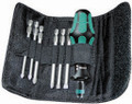 Wera KK 40 7 Pc Kraftform Kompakt Screwdriver Set (Sl/Ph/Pz)