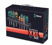 Wera KRAFTFORM XXL 12 Pc Multi-Pak Screwdriver Set