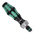 Wera 816 RA Bitholding Screwdriver, w/ Rapidaptor, Ratcheting
