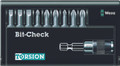 Wera 8100/9/TZ BIT-CHECK 9 Pc Bit Set (Sl/Ph/Pz)