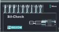 Wera 8100/9/TZ BIT-CHECK 9 Pc Bit Set (Sl/Ph/Pz)