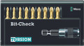 Wera 8155/9/TH BIT-CHECK 9 Pc Bit Set (Pz)