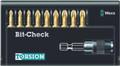 Wera 8155/9/TH BIT-CHECK 9 Pc Bit Set (Pz)