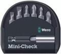 Wera MINI-CHECK 6 Pc Bit Set (Sl/Ph/Pz)
