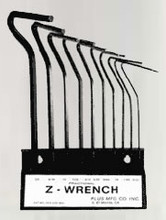 Z-Wrench Hex Key - Clamp Manufacturing Company 101-ST