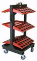 Huot ToolScoot Tree CNC Toolholder Cart - Huot 55970