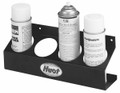 Huot can rack holds four standard aerosol cans