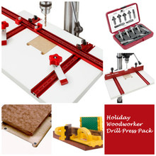 Holiday Woodworker Drill Press Package, HWDP-PACK -  PACK