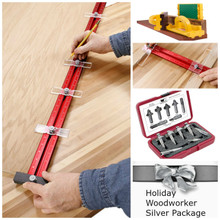 Holiday Woodworker Silver Package, HWSILVER-PACK -  PACK