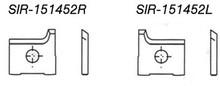 Radius Insert Knife - Carbide Processors IR-1961522L-2