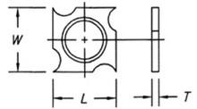 Reversible Insert Spur / Grooving Knife - Carbide Processors IG-1818295