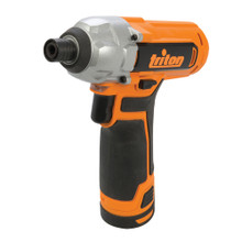 The Triton Cordless Impact Driver T12ID features a powerful Mabuchi RS-550 motor and precision metal gearing for long life, even when used at high speed and torque.