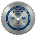 Cermet tipped Stainless steel saw blade