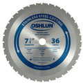 Ferrous & Stainless Steel Cutting Cermet Tipped Bl - Oshlun SBFS-072536