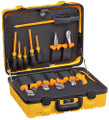 13-Piece 1000-Volt Utility Insulated Tool Kit, Hard Case, Klein Tools 33525