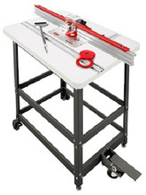 Router table set 24x32 laminated w triton tra001 router woodpeckers prp 1 premium router table package 1 with triton router greentooth Gallery