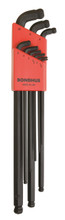 Bondhus 67099 Stubby Double Ball End L-Wrench, Metric