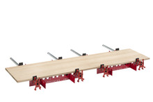 """Woodpeckers One Time Tool- Clamp Support System 24"""" for Bar Clamps (Pair), Clamps Not Included"""