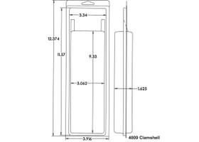 4009 Clamshell Sample