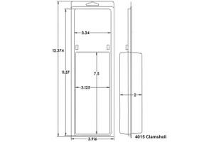 4015 Clamshell Sample