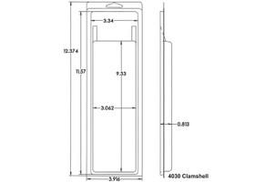 4030 Clamshell Sample