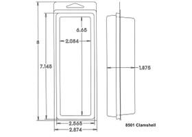 8501 Clamshell Sample