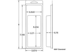 8507 Clamshell Sample