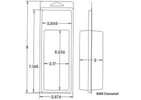 8509 Clamshell Sample