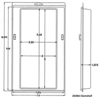 2028A Series Clamshell