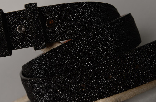 Stingray Belt - Black w/ No Crown