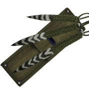 Sure Throw Camo Throwing Knife Set