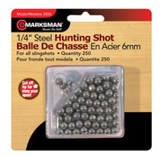 Marksman Steel Slingshot Pellets 6mm