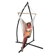 Mexican Hammock Chair with Steel Stand