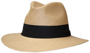 Panama Classic Safari Fedora Hat - Putty II
