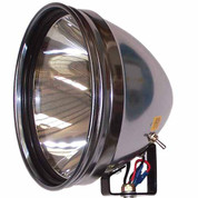 "Powa Beam 9"" QH Spotlight w Bracket"