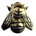 Solid Brass Bee Door Knocker
