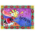 Bee Merry Honeybee Holiday Card (10 Cards)