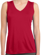Ladies Sleeveless Competitor™ V-Neck Tee