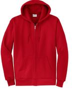 Classic Full-Zip Hooded Sweatshirt